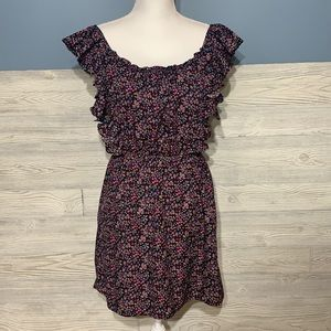 Adorable floral ruffle dress